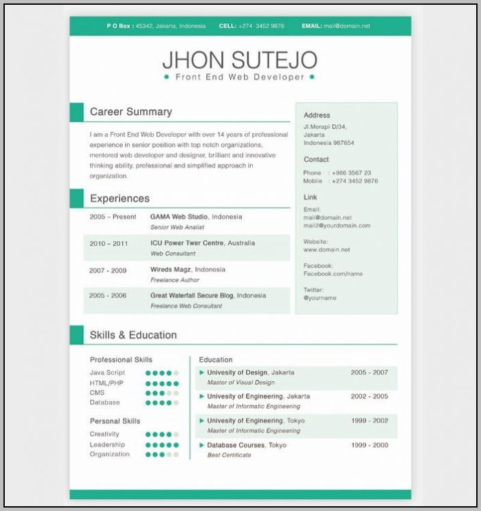 Free Cover Letter Builder For Resume