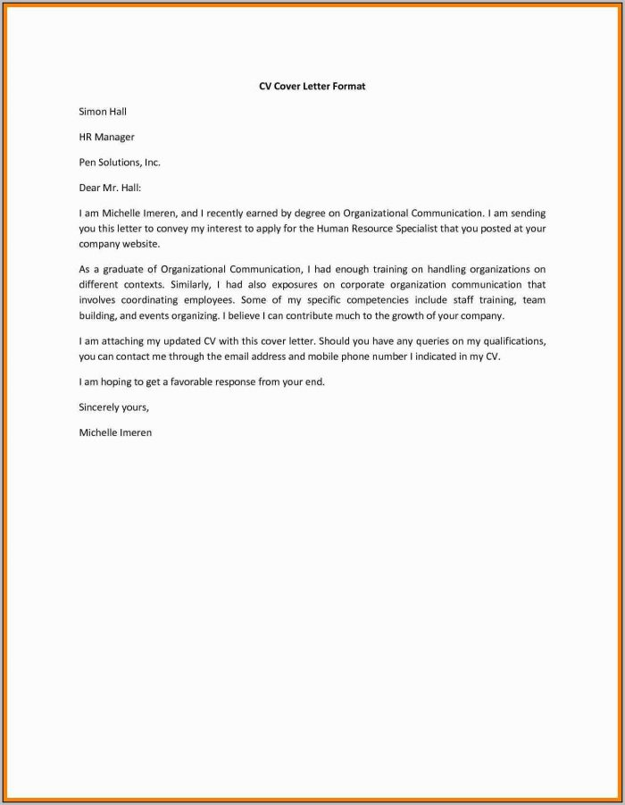 Resume Cover Letter Builder Free