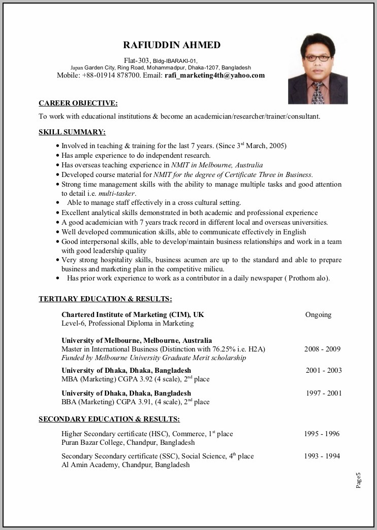 Sample Cover Letter For Teaching English Abroad