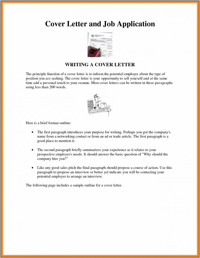 Sample Of Cover Letter For Resume Doc