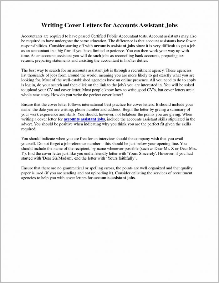Accounts Payable Manager Cover Letter Examples