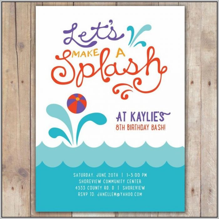 Party Invitation Template Free Online