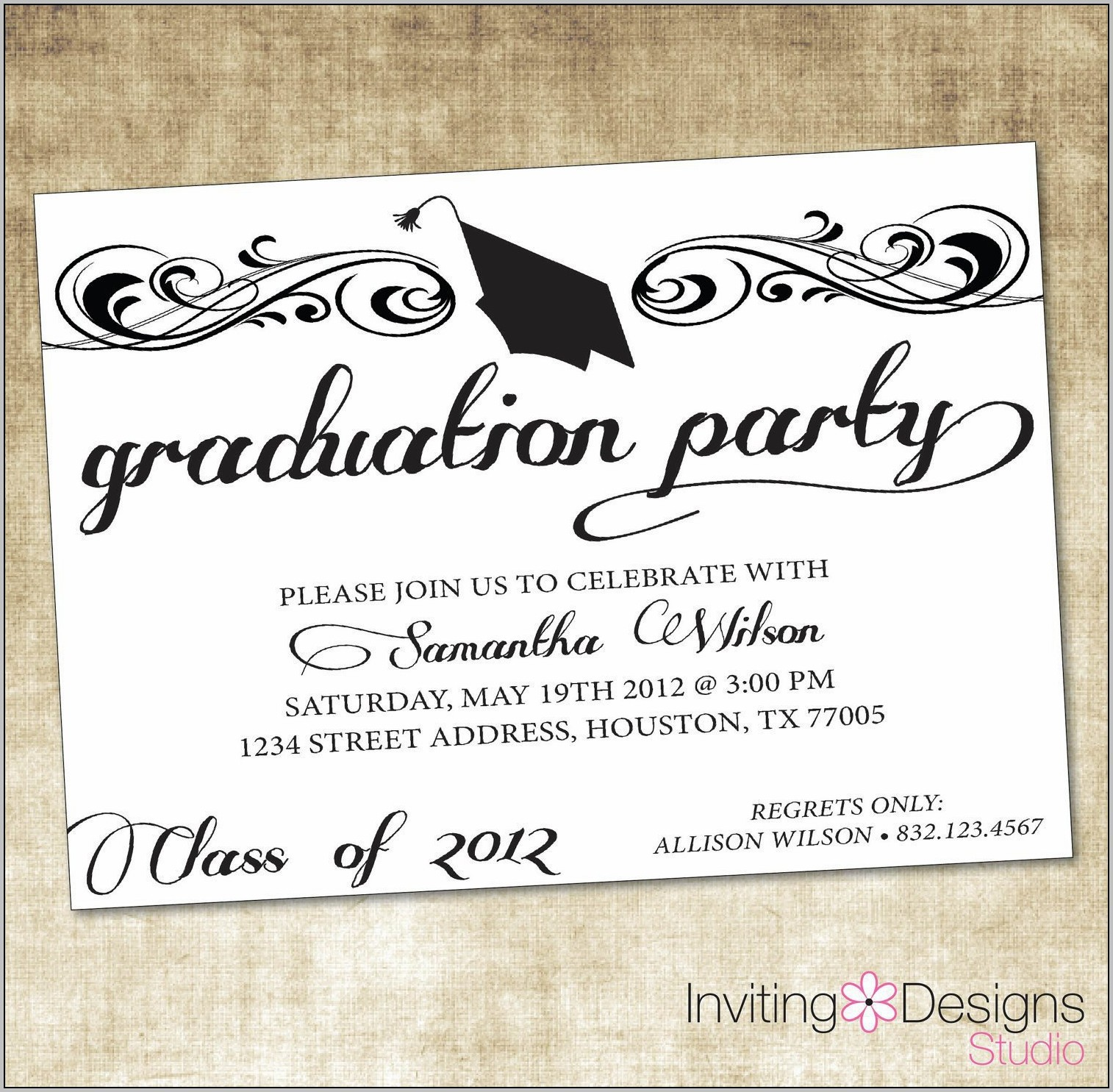 Party Invitation Templates Free Word