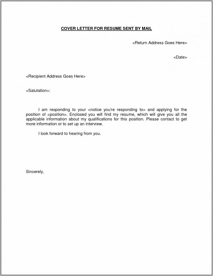 Email Cover Letter Sample Cover Letter Email Resume Attachment New Within Email Resume Cover Letter Template