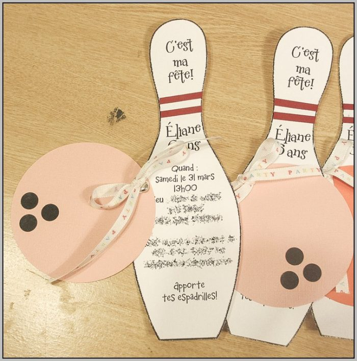 Free Birthday Invitation Templates Bowling