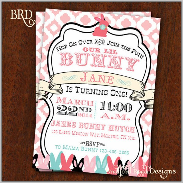 Free Easter Birthday Invitation Templates