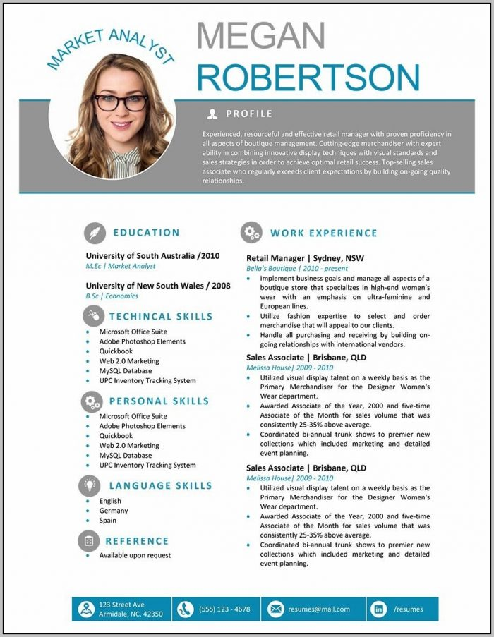 Free Resume Download In Word Format