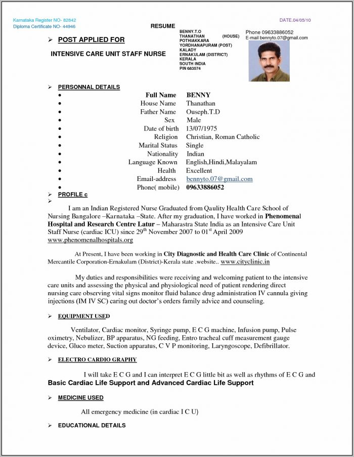 Free Resume Template Singapore Download