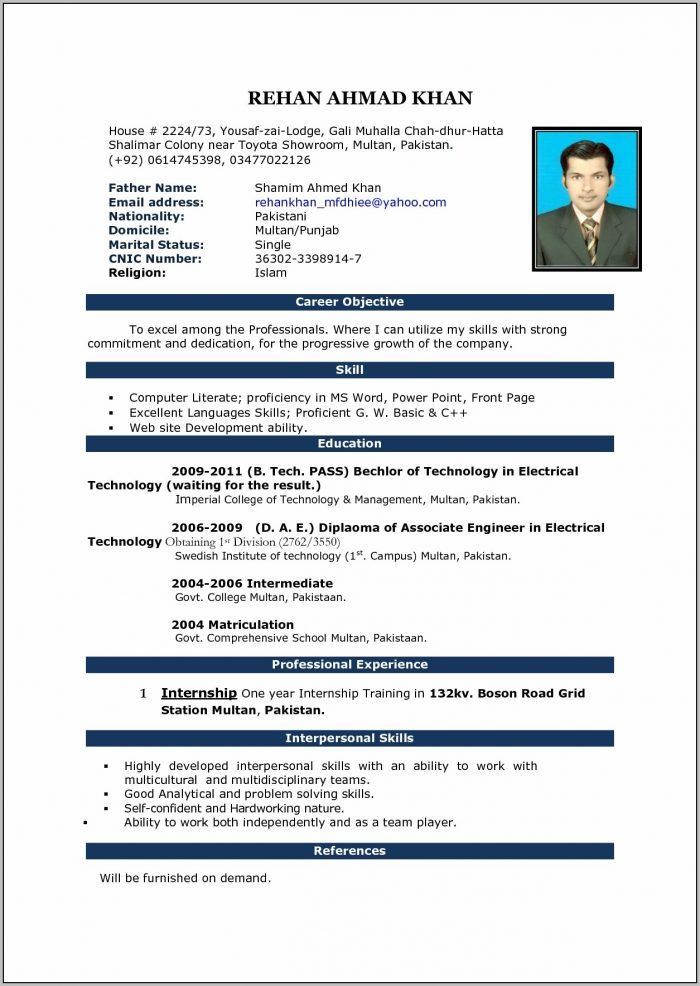 Resume Word Template Free Resume Samples Microsoft Resume With Regard To Resume Templates Word Free