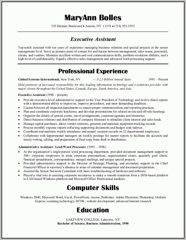 Resume Examples Medical Administrative Assistant Sample Resume Inside Sample Human Resources Assistant Resume
