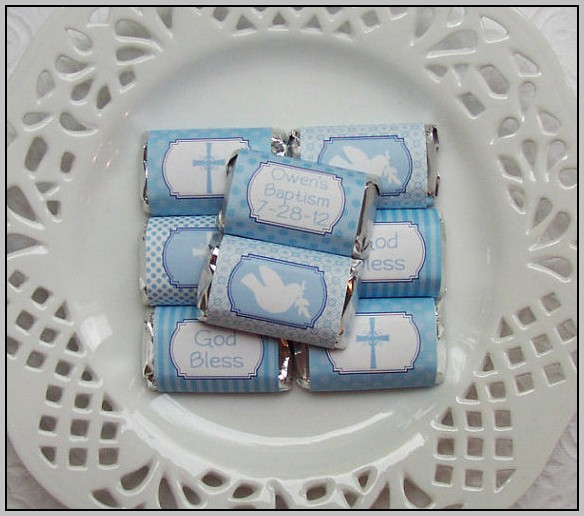 Baptism Candy Bar Wrapper Template