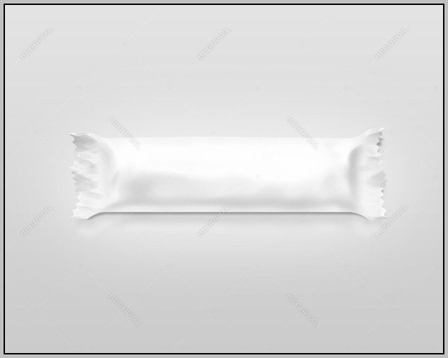 Blank Candy Bar Wrapper