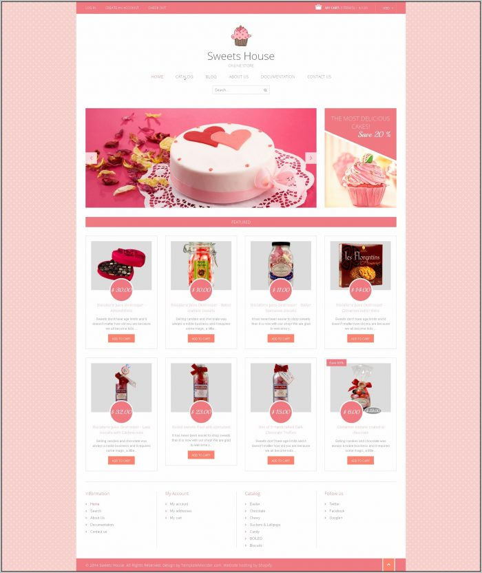 Candy Bar Design Template