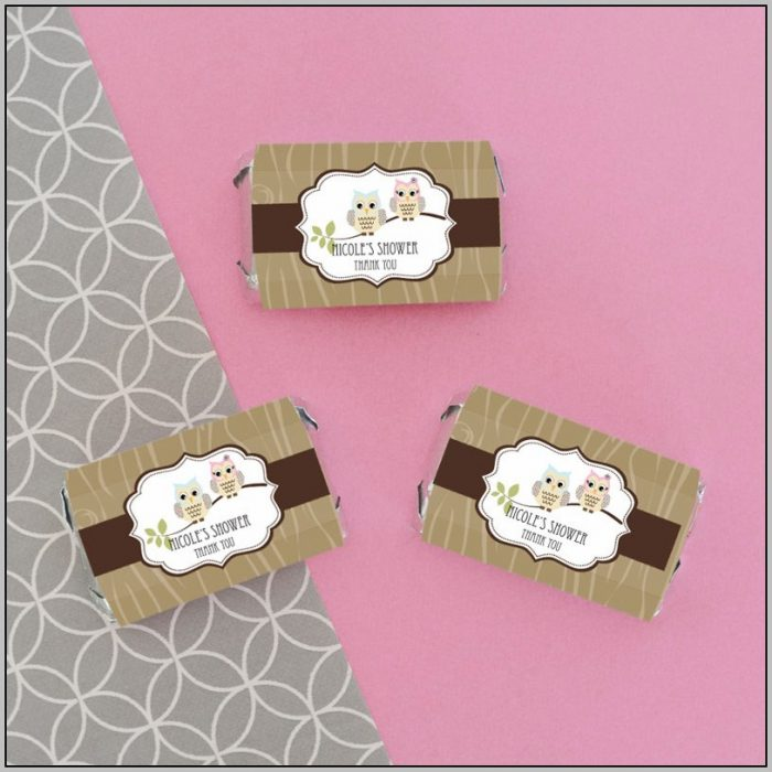 Candy Bar Favors Birthday