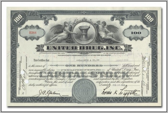 Business Stock Certificates