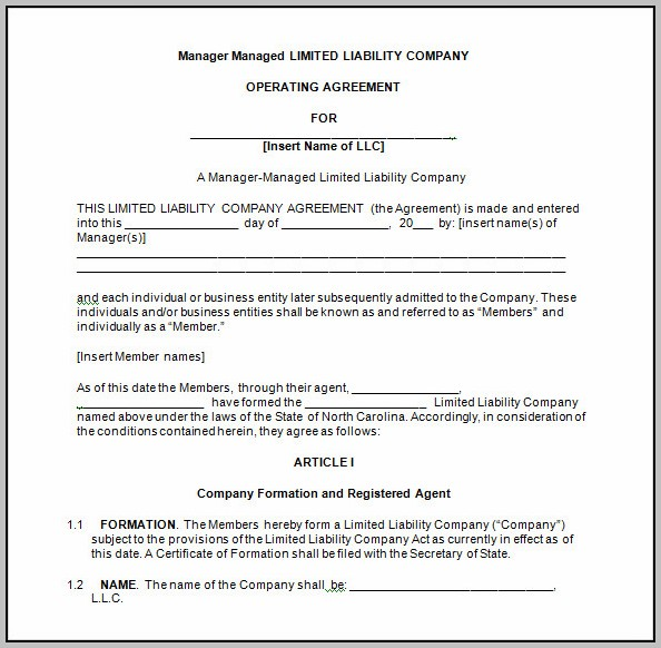 Company Agreement Vs Operating Agreement