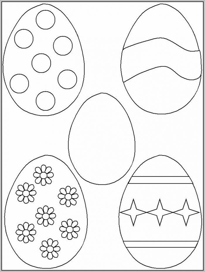 Easter Basket Template To Print