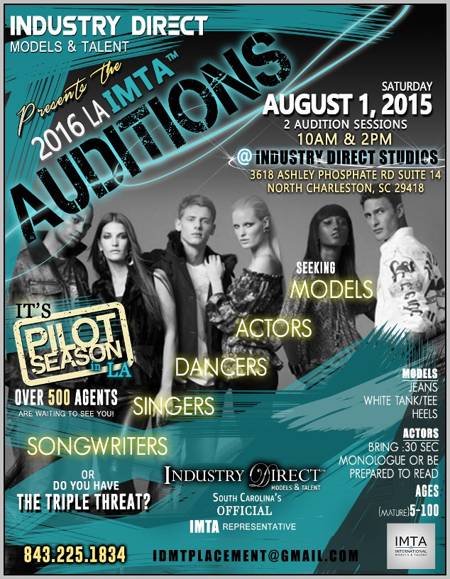 Audition Flyer Template