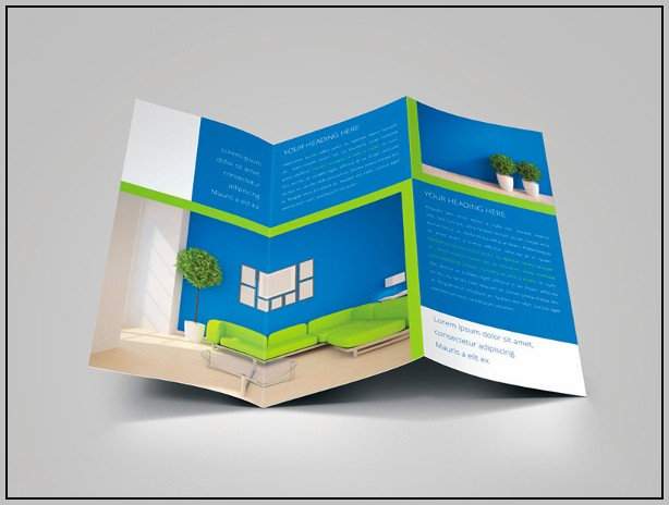 Bank Brochure Design