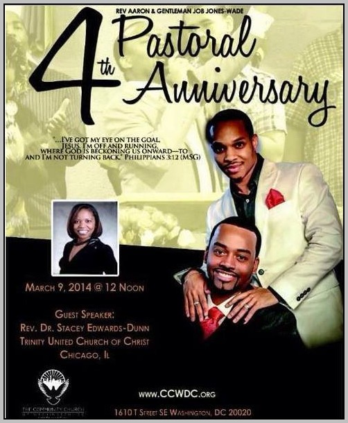Black Church Anniversary Sermons
