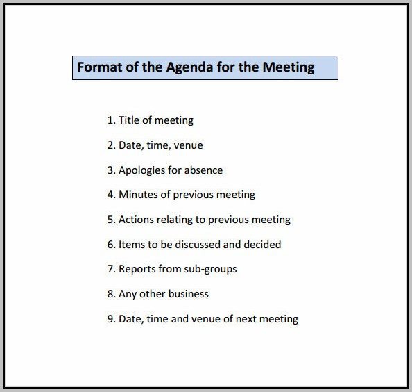 Conference Planning Committee Template