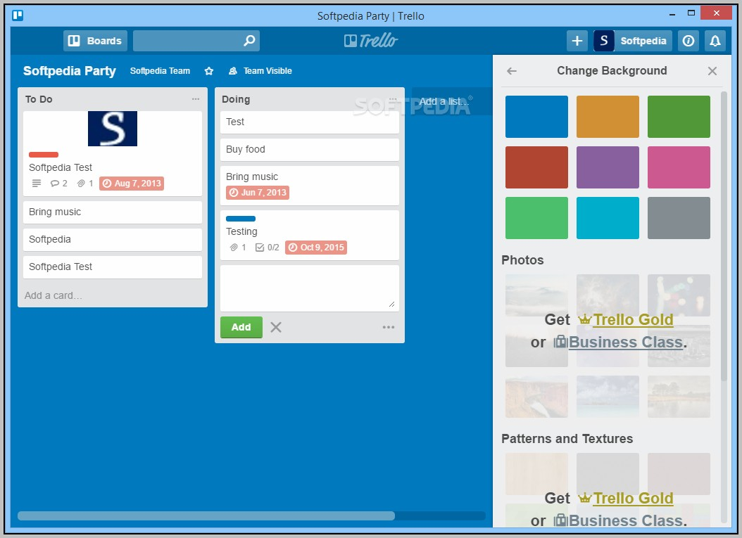 Download Trello Board