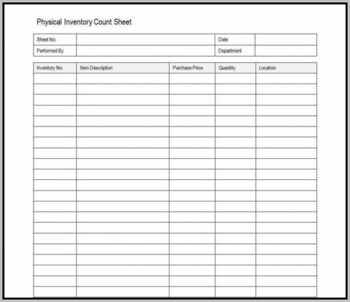Clothing Inventory Template Excel
