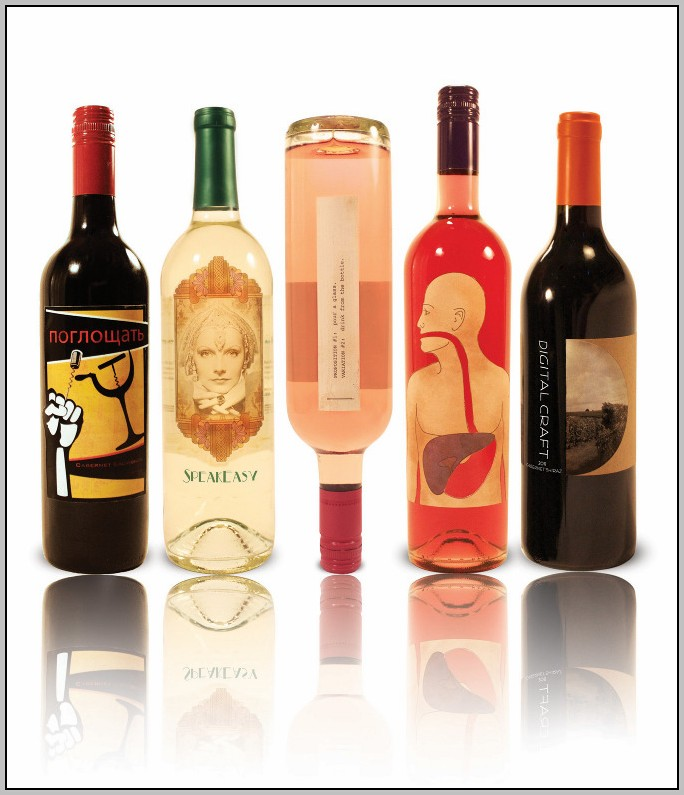 Avery Wine Bottle Labels