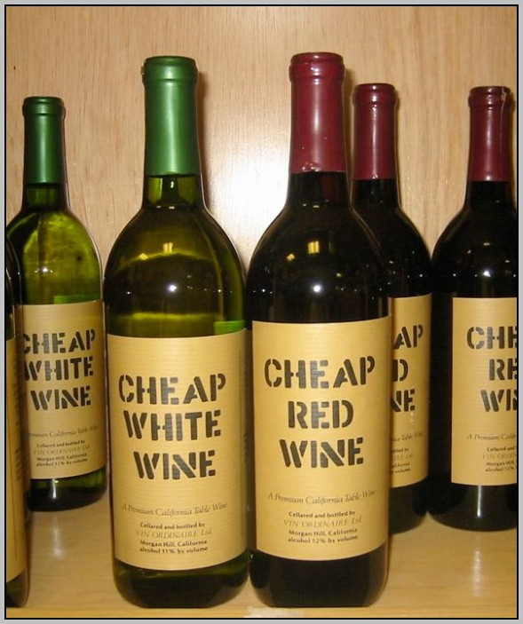 Cheap Wine Labels