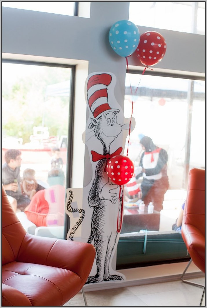 Cat In The Hat Decorating Ideas