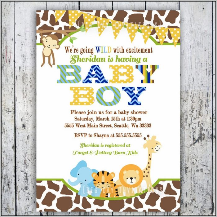 Baby Invitations Ideas