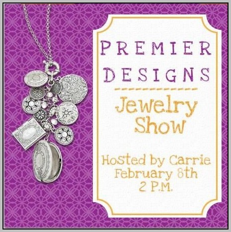 Jewelry Party Invitation Templates Free