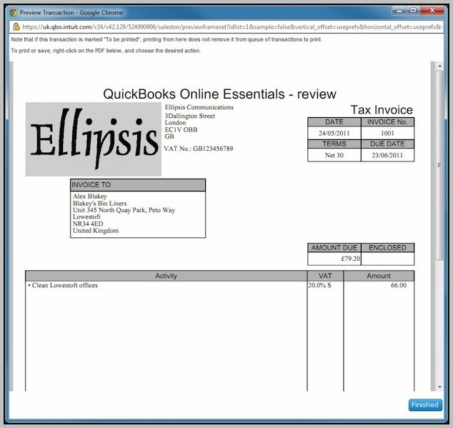 Quickbooks Online Multiple Invoice Templates