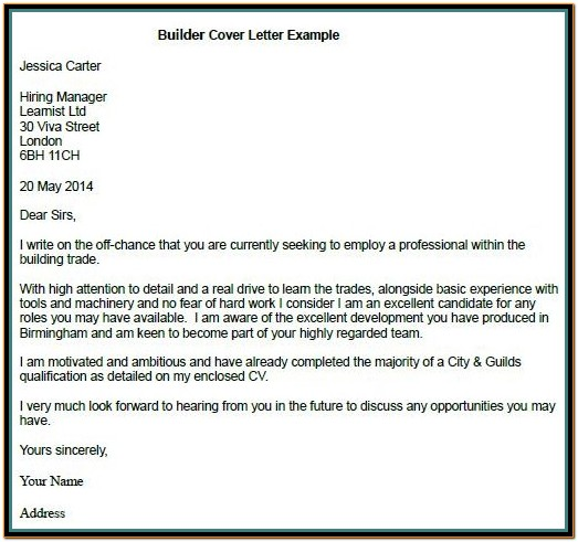 Cover Letter Creator Free