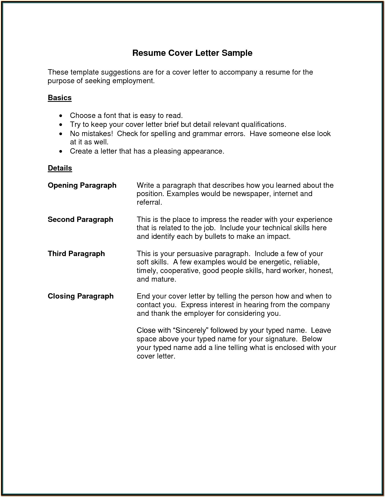 Samples Of Resume Cover Letters Investment Advisor Assistant Cover Regarding Examples Of Cover Letter For Resume Template