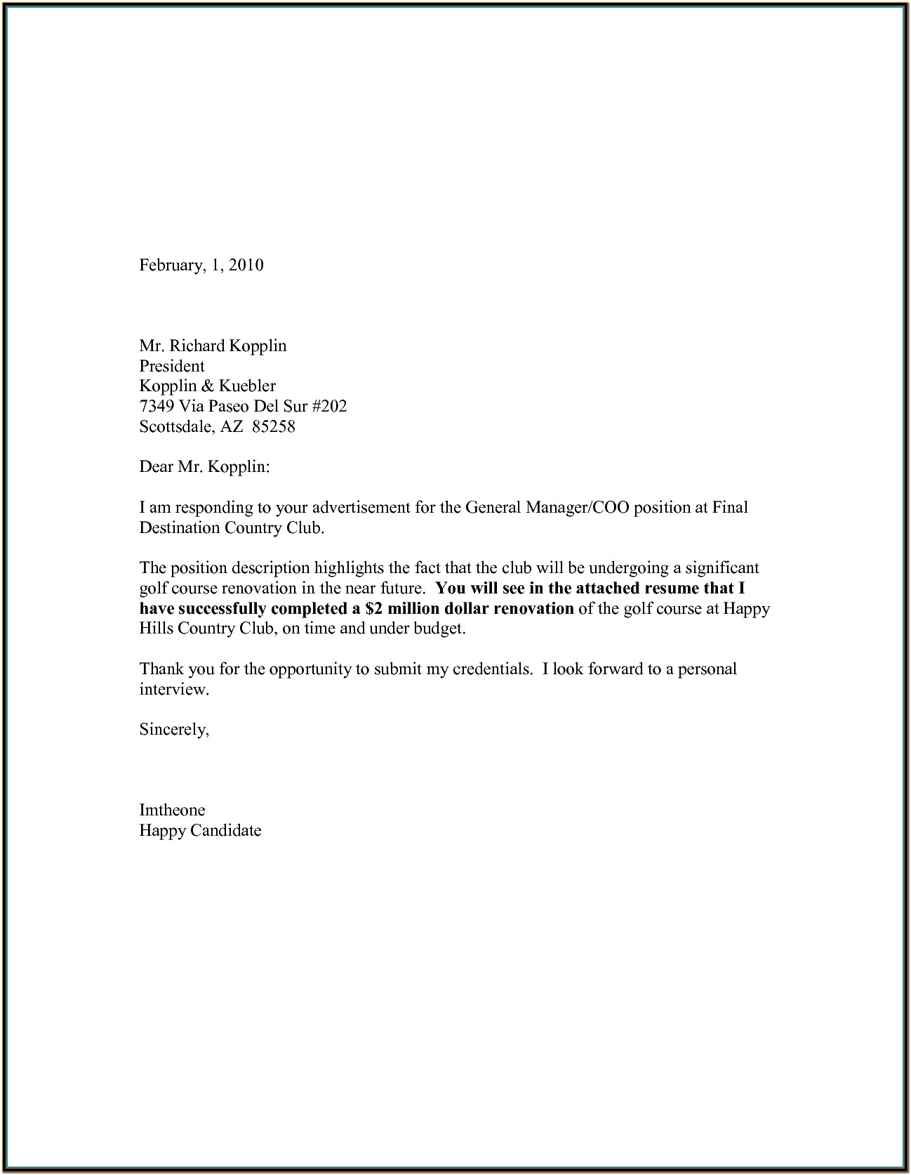General Cover Letter Template | Best Business Template With Resume Cover Letter Template 2017