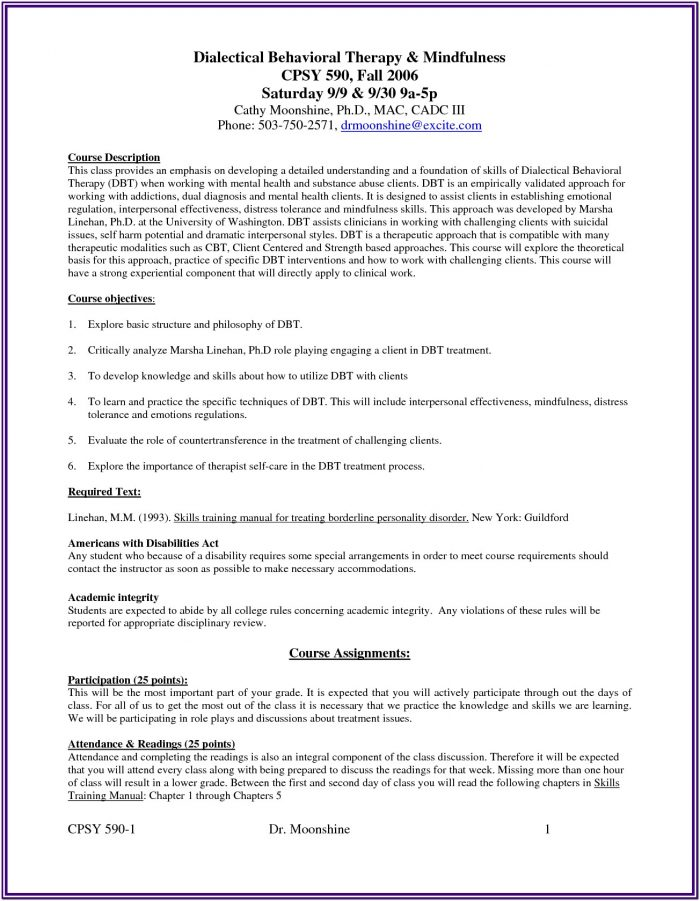 Dbt And Substance Abuse Worksheets