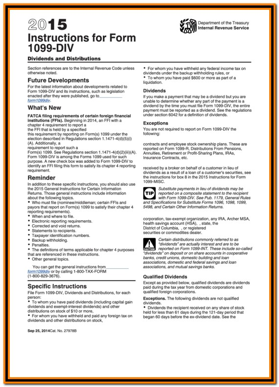 Irs Form 1099 Instructions 2015