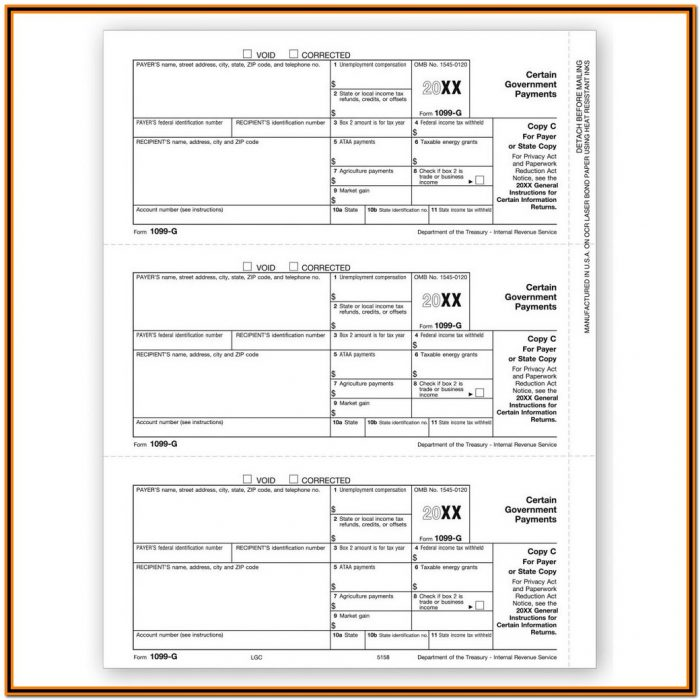 Irs Form 1099 Misc 2017 Instructions