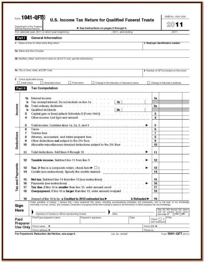 Irs Forms 1040 Schedule D