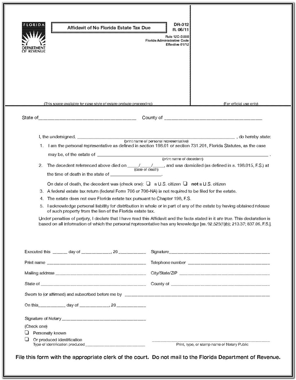 Bankruptcy Chapter 7 Forms Florida