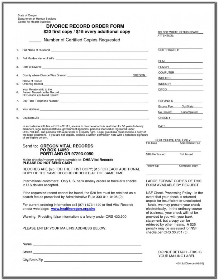 Indian Divorce Forms Free Download