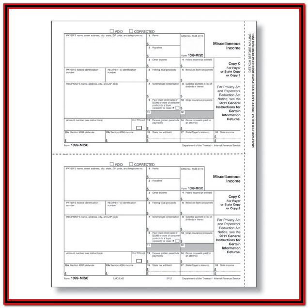 Irs 1099 Forms For Independent Contractors