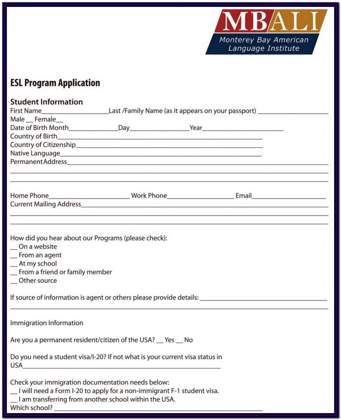 Ssi Application Form For Disability