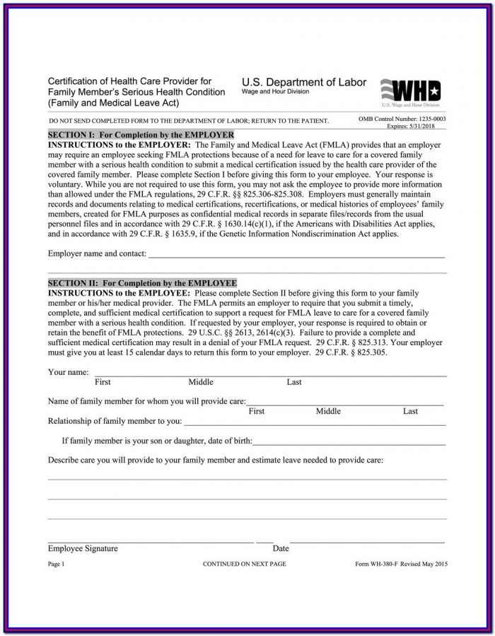 Usps Fmla Printable Forms