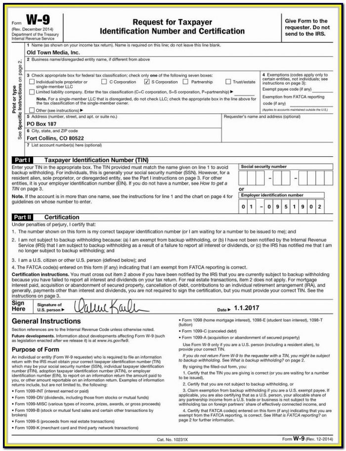 1099 Misc Form Fillable 2017