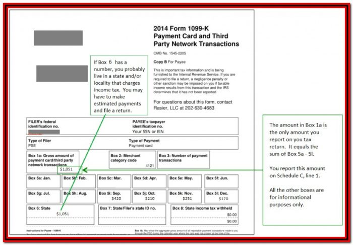 1099 C Tax Form Instructions