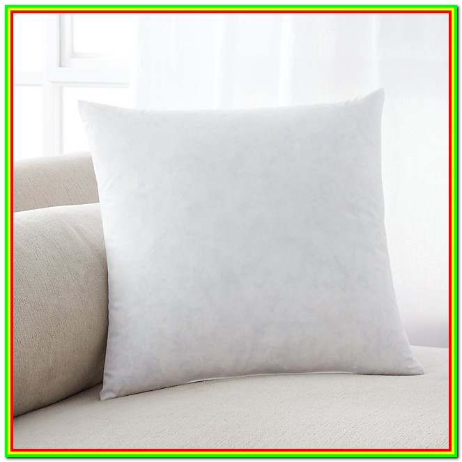 Down Feather Pillow Forms
