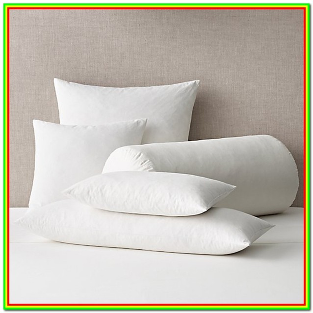Down Pillow Forms Bulk