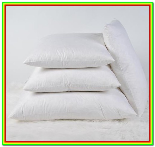 Down Pillow Forms Canada